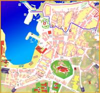 cartina_paese di Favignana